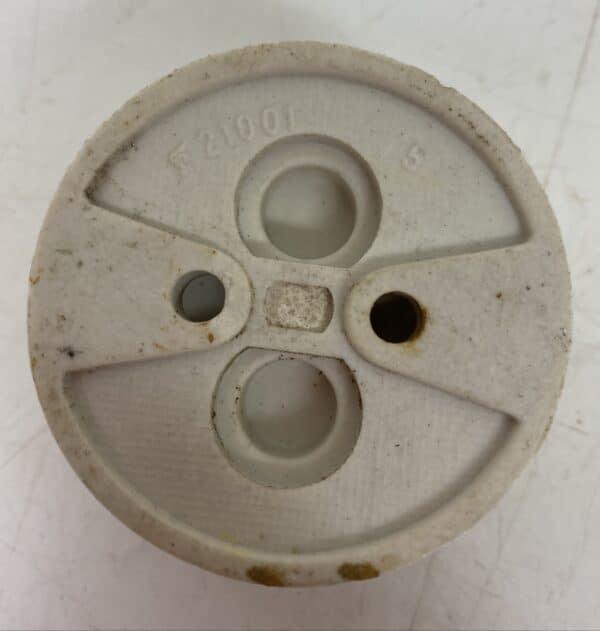 Vanha pyöreä pintajakorasia halkaisija 5,6 cm