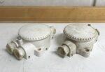 Vanha 3-piippuinen kosteantilan pintajakorasia