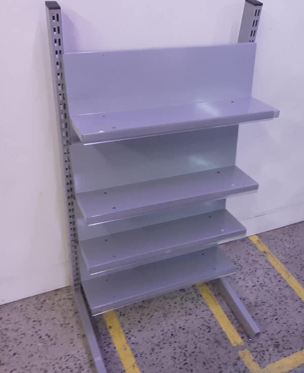 Myymälähylly moduuli korkeus 124 cm