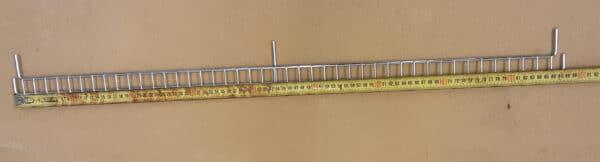 Hyllyn putoamisreunus 87,5x3 cm