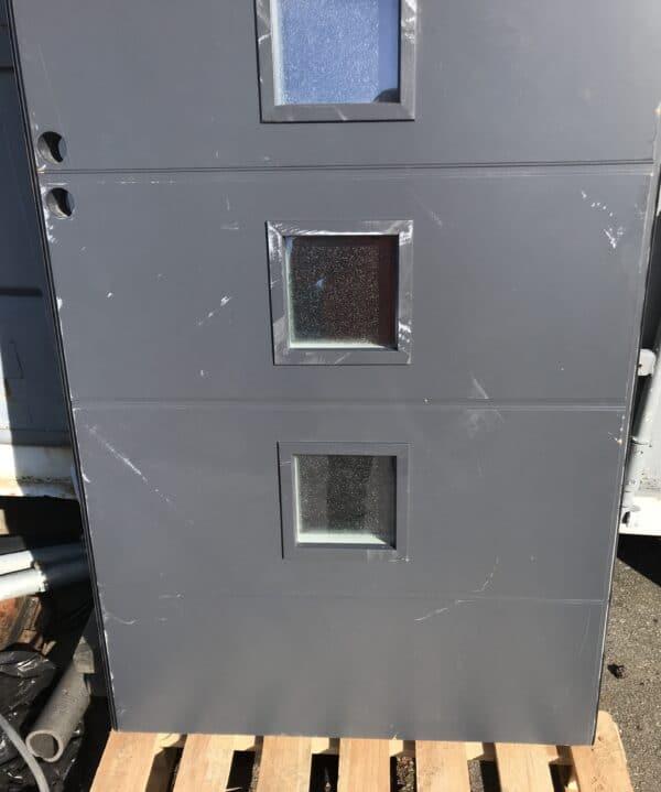 Käytetty Skaala harmaa ulko-ovi vasenkätinen 92*203 cm
