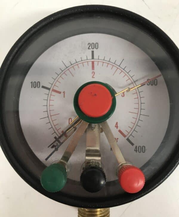 Iso painemittari 0-4 bar mekaaninen näyttö 100 mm