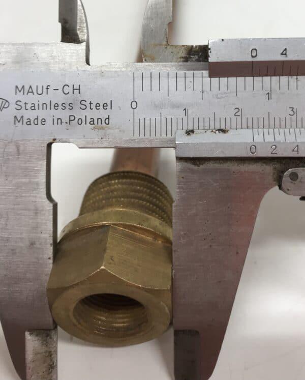 Anturitasku 1/2″ messinki 185 mm
