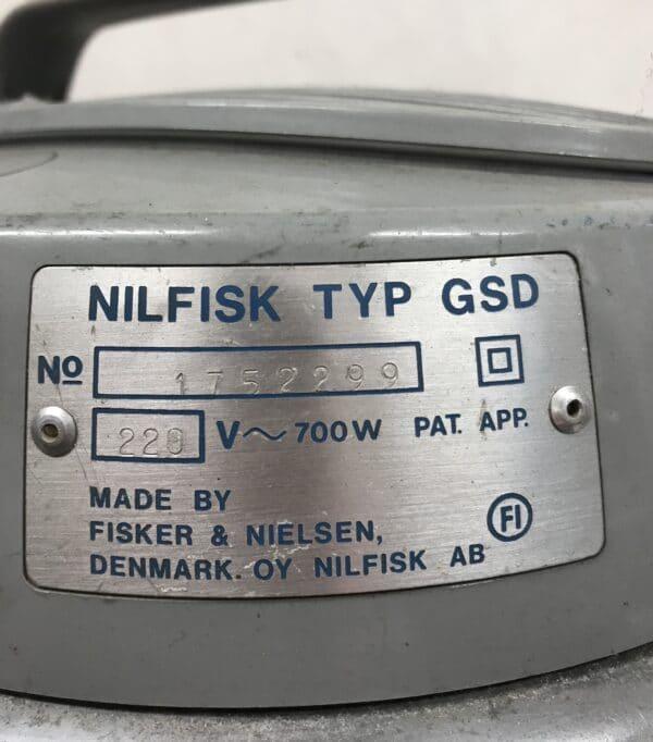 Nilfisk GS 90 harmaa Retroimuri