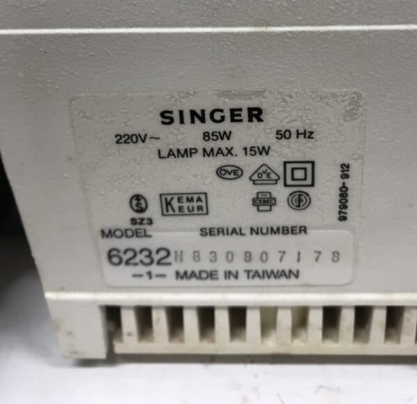 Singer Elegance ompelukone Model 6232