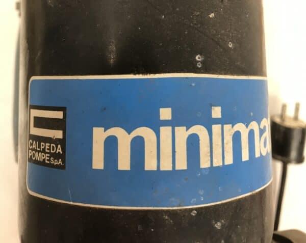 Calpeda vesipumppu Minimat paineautomaatilla