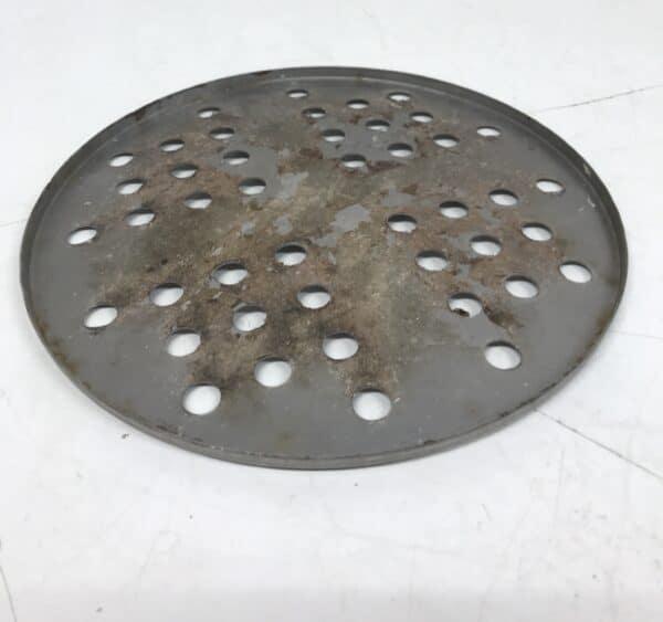 Kromattu lattiakaivon ritiläkansi halkaisija 16 cm