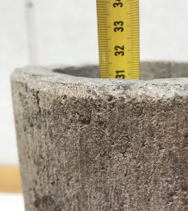 Betonijalka 31 cm