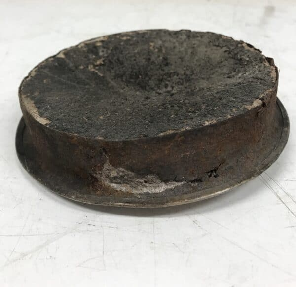 Nuohousluukku pyöreä turvavalulla 12 cm
