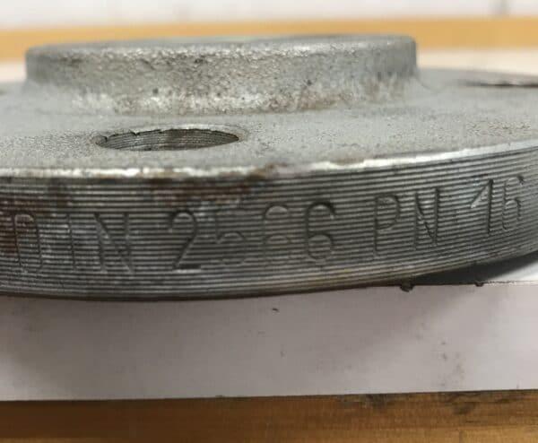 Putkilaippa sisäkierteellä DIN 2566 PN 16 DN 50/60,3
