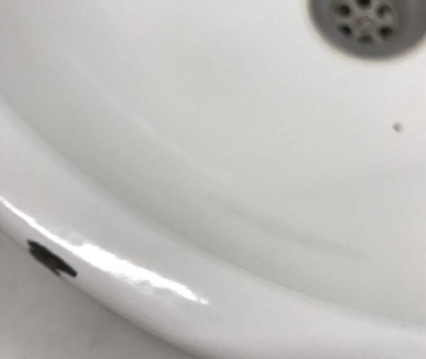 Upotettava pyöreä emali-allas 41 cm