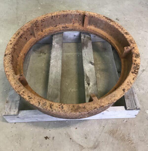 Kaivonkannen kehys pyöreä 60 cm kannelle