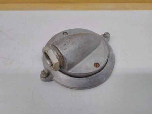 Vanhanmallinen alumiininen kiuasrasian liitäntäkansi