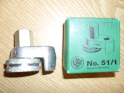 Kukko 51-1 Vaarnaruuvin ulosvedin 5-10 mm