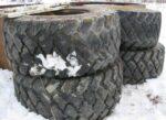 Bridgestone 650/65 R 25 ja vanteet
