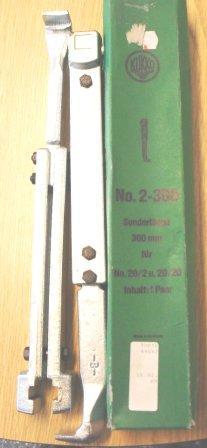 Kukko 2-300 Vetojalat 300 mm