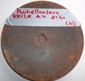 Hellan levy Kele no 4 Ø 21 cm