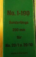 Kukko 1-190 vetojalat 200mm