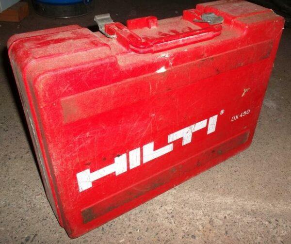 Koneen kuljetuslaatikko Hilti DX 450