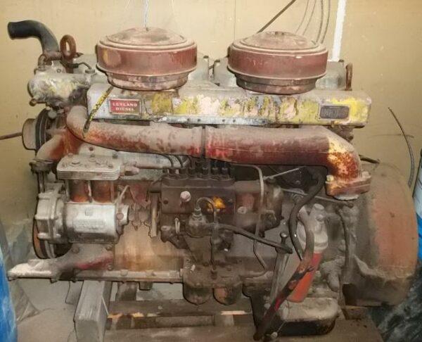Dieselmoottori Leyland