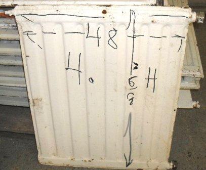 Vesikiertopatteri 48 x 61 cm
