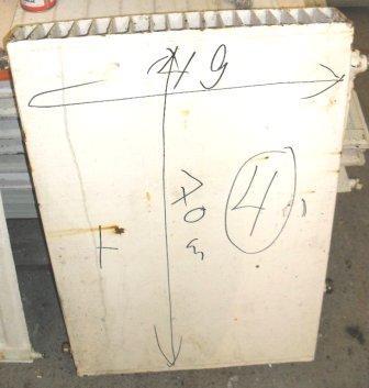Vesikiertopatteri 49x70 cm