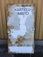 Metalli palo-ovi 100*185 cm B1-Ovi