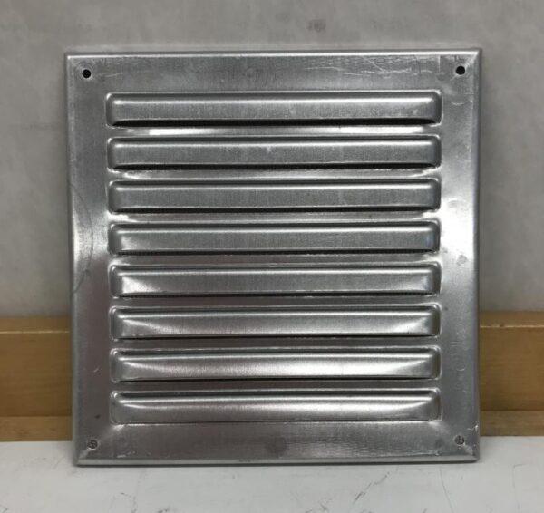 Ilmastointiritilä alumiini 19*19 cm