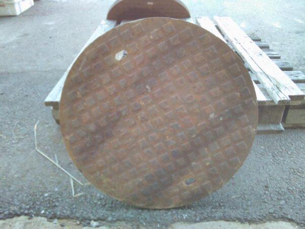 Valurautainen 40T kaivonkansi 60 cm